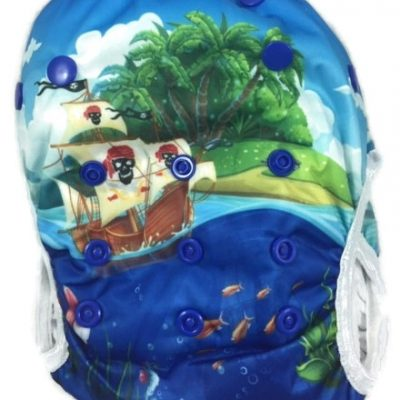 Ahoy There Reusable Swim Diaper